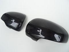 スバル リアル カーボン ドアミラー カバー トレジア NCP125X