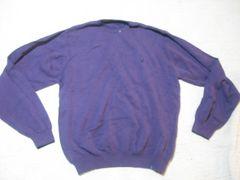 男 NAUTICA ノーティカ 紫 セーター XXL