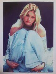 キャメロン・ディアス ポストカード 1990年代物 レア �A 未使用新品