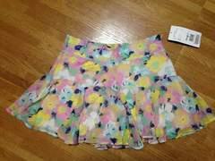 新品タグ付PinkyGirlsピンキーガールズフラワーキュロットパンツスカート花柄