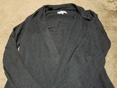 ★groveシンプルブラック(黒色)カーデ★