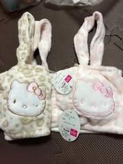 キティ☆ファーブラ☆ヒョウ柄☆Lサイズ☆新品☆2枚セット