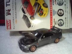タッカー  チューンドR  スカイラインR33    シークレット  ガンメタ