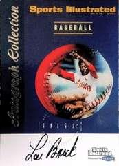 FLEER99 LOU.BROCK・baseball.Auto直筆サインカード ルーブロック