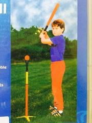 野球練習用 ティーボール ブルーカラー ジュニアベースボール