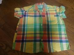 110 BeBe 綺麗な色のシャツ 美品