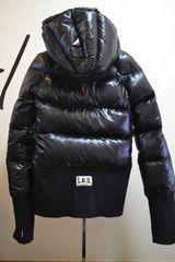 LGBルグランブルー デカフードダウンジャケット ♀1