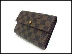 ルイヴィトン ダミエ エテュイパピエ 三つ折り財布 N61202