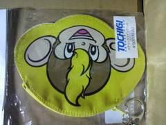 トチギSCメタリック コインケース トッキー モヒカンお猿 新品