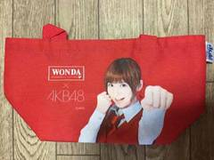 非売品! AKB48×WONDA 篠田麻里子 ミニトートバッグ