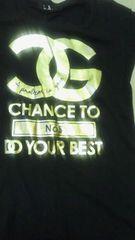 NEWセレカジバイカラーロゴcocoBIGTシャツ黒色