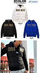 DIVINER ロゴ刺繍中綿ジャケット/ダウンタイプ/大きいサイズ
