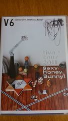 V6 2011ライブツアー Sexy.Honey.Bunny