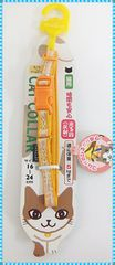 HANDLER(=^・^=)キラキラキャットカラー 〜5kgまで (オレンジ)