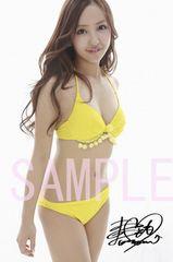 【送料無料】 AKB48板野友美 写真5枚セット<サイン入>02