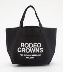 新品ロデオクラウンズミニトートバッグ黒