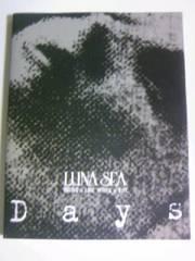 初版本「Days/LUNA SEA」V系ヴィジュアルバンドルナシー写真集デイズフォトブック