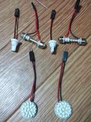 LED ルームランプ高輝度SMD22連(丸型配置)2個セット