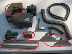 M151A2ジープ ヒーターキットパーツ(NOS)