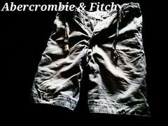 【Abercrombie&Fitch】Vintage Destroyed デストロイチノショーツ 32/Grey
