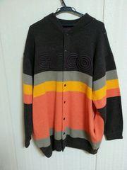 Willie / ESCO/ スタジャン風ニットセーター/ XL/ 大きいサイズ