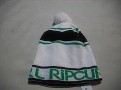 mb483 男 RIP CURL リップカール ボンボン付き ニット帽