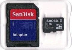 SanDisk���� ϲ��SDHC�WGB(microSD)+��������@ ���ʗX�֑�������