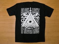 ブラックライト フリーメイソン Tシャツ 黒 L 新品