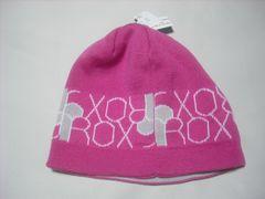wb625 ROXY ロキシー リバーシブル ニット帽 ピンク