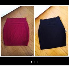 タイトスカート 二枚セット