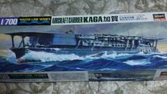 ハセガワ1/700  日本航空母艦  加賀   かが