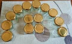 ★六角ジャム瓶10個 四角ジャム瓶4個 ジャム作りに ★