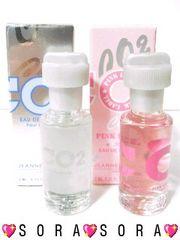 ペア香水【ジャンヌアルテス】CO2プールオム+CO2ピンクレーベル2点セット