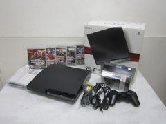ソニーPS3本体CECH2000A(HDD 120GB)バージョン4,80ソフト5本付