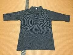 メンズ☆アントムサイド☆ボーダーTシャツ カットソー 七分袖☆L