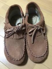新品スエード靴
