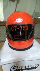 立花 GT750 正規品 オレンジ Lサイズ 廃盤 新品 族ヘル レトロ
