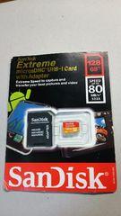 □マイクロSDカード128GB(San Disk)