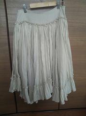 GRACE CONTINENTAL クリームベージュスカート size36