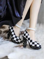 SD13〜SD16少女向けハイヒール ヒール足用 Black sole