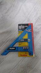 新品:タジマ:丸ノコガイドモバイル90-45マグネシウム限定色ブルーMRG-M9045MBL