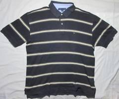 トミーヒルフィガー ポロシャツ (ボーダー) ストレッチ 139