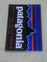 patagonia パタゴニア VENTURA CALIFORNIA ステッカー MB