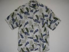 即決USA古着総柄デザインアロハシャツ!ハワイアンアメカジ