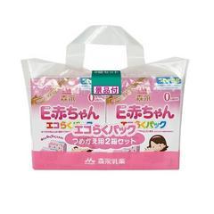 即決 森永 E赤ちゃん エコらくパック つめかえ用 2箱 送料無料