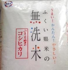 無洗米 福井こしひかり3kg   最高ランク特A米