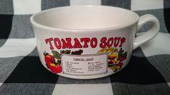 アンティーク ビンテージ ヴィンテージ 古いスープカップ トマト 昔の食器です