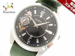 FOSSIL(フォッシル) 腕時計 美品 TWIST ME-1061 メンズ 黒