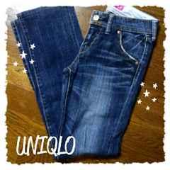 ★美品UNIQLO/Style Upデニム★