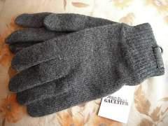 ジャンポールゴルチエニット手袋グレー